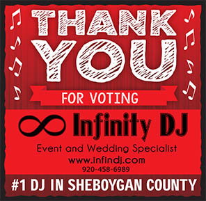 sheboygan best dj sheboygans dee jay wedding wed hall venue reception voted best